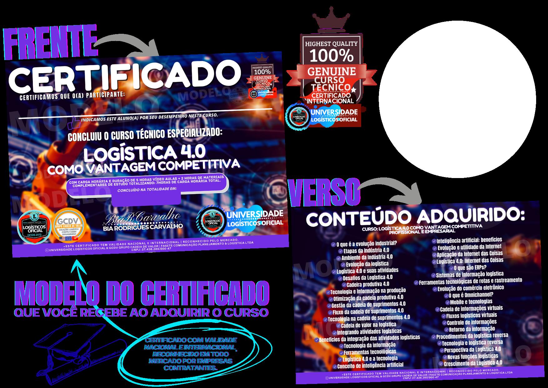 Certificado Logística 4.0